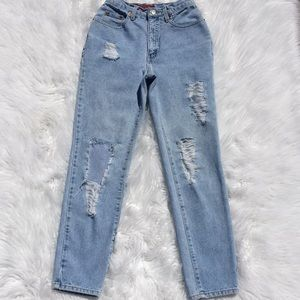 Vintage Hand Distressed Limited Jeans